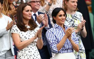 Meghan broke royal protocol this weekend with her fab Wimbledon outfit