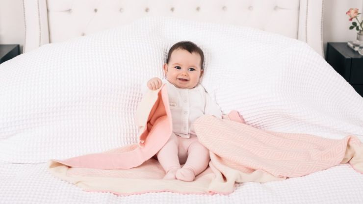 Irish company White & Green has a gorgeous baby range and it's all organic