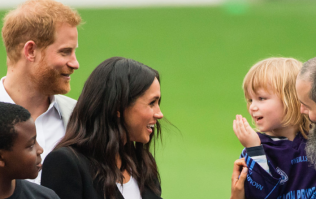 This toddler stole the show during Meghan and Harry's visit to Croke Park today