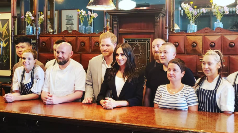 Meghan and Harry ordered a very Irish lunch in a Dublin café today
