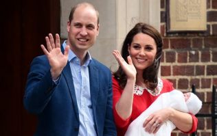 Kate Middleton did WHAT the day after giving birth to Louis?
