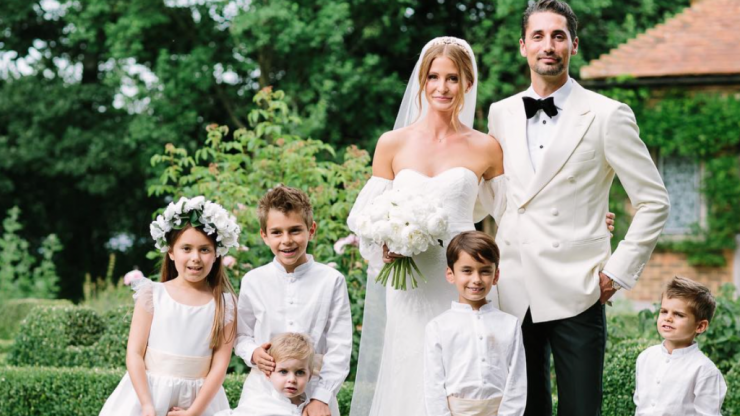 We're in love with the brand that dressed Millie Mackintosh's flower girl and page boys