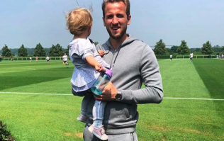 Congrats! Footballer Harry Kane and fiancée Kate welcome second child