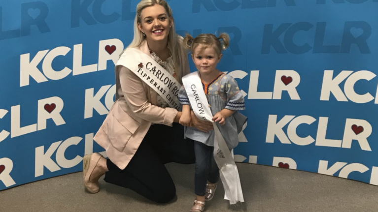 Carlow Rose of Tralee is the only mum in this years' pageant and we are loving her