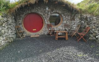 Hobbits and hot tubs: My family's stay at Mayo Glamping