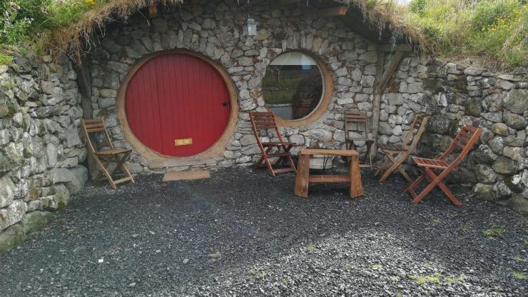 Hobbits and hot tubs: My family's stay at Mayo Glamping