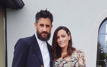 Louise Duffy shares the first photo of her newborn baby - and revealed her name