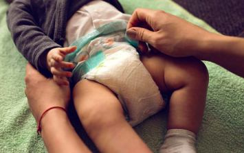 Everybody's talking about what this mum found in her baby's nappy
