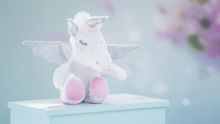 Magic for baby's gums, these unicorn teething bracelets are out of this world