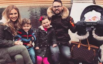 'Boy meet world': Anna Saccone-Joly has given birth to her fourth child
