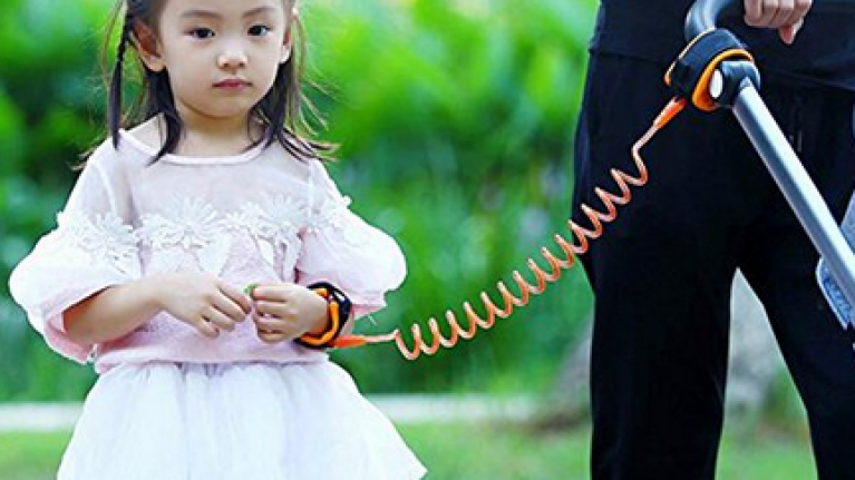 The £7.99 gadget that will keep your toddler from straying or getting lost in a crowd