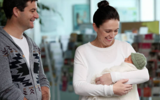 New Zealand PM brings baby to work after six-week maternity leave