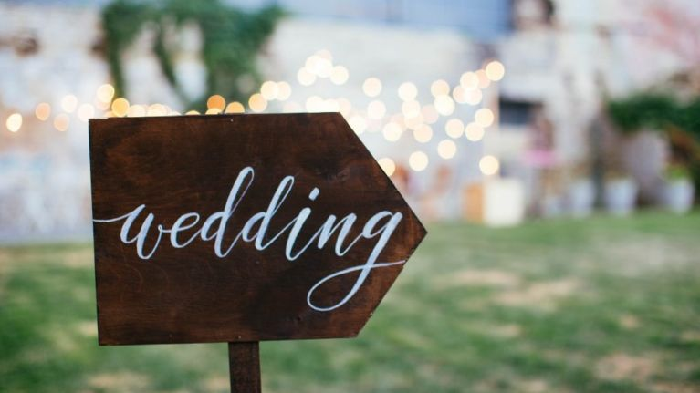 Turns out having a wedding is really bad for the environment
