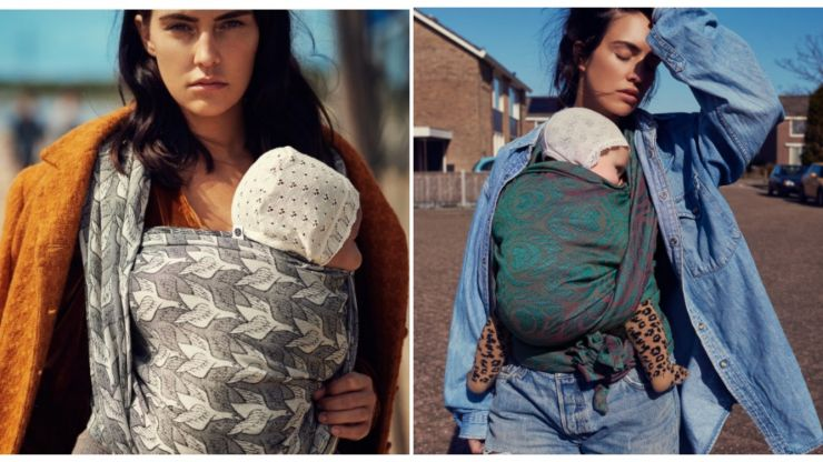 Planning on babywearing? You need to know about these crazy beautiful baby wraps