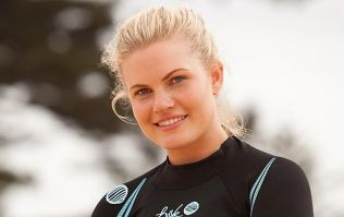 Former Home and Away actress Bonnie Sveen announces she's pregnant with TWINS