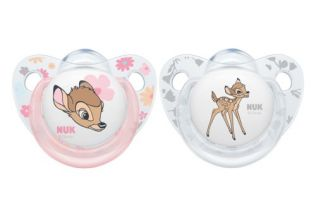 NUK has just launched a limited edition range with Bambi and Dumbo