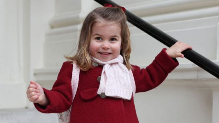 This side-by-side of William and Charlotte shows just how alike they are