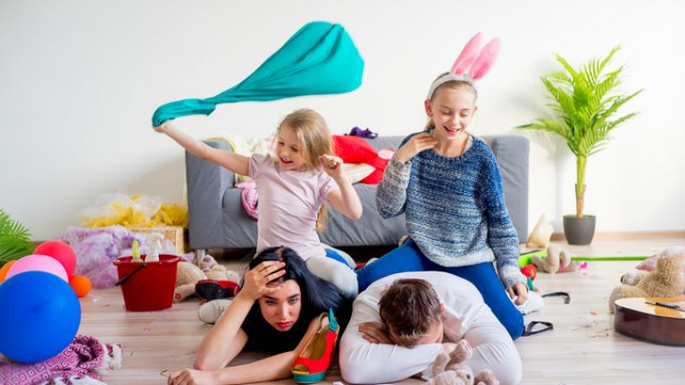 Study finds that mum and dads get an estimated 32 minutes of 'me time' a day