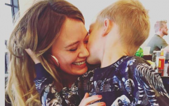 Hilary Duff addresses criticism of photo of her kissing her son years ago