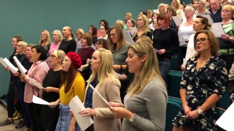 I took part in Casual Choir this week and it by far exceeded my expectations