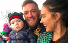 People have a real problem with this picture of Conor McGregor Jnr and, seriously?