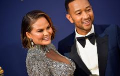 Chrissy Teigen had the perfect answer after being asked if she was pregnant again at the Emmys