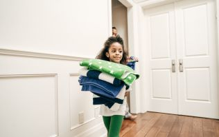 These are apparently the chores your child should be able to do, based on their age