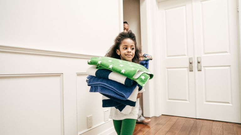 Calling a child a 'little helper' won't make them do their chores, study finds