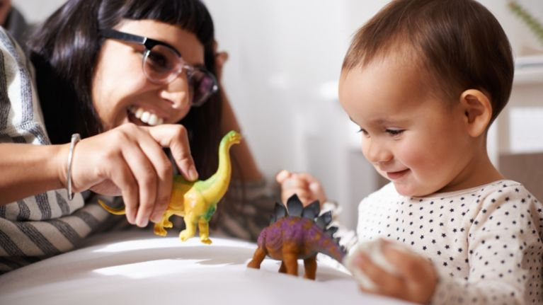 Apparently, this is the number of toys that your baby should have