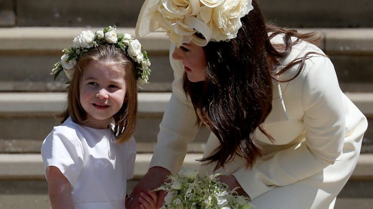 Princess Charlotte is completely obsessed with her mum's handbag