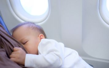 'I had to cover myself up': Mum 'mortified' to be told to stop breastfeeding on flight