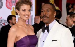 Eddie Murphy poses with all of his 10 children for Christmas photograph