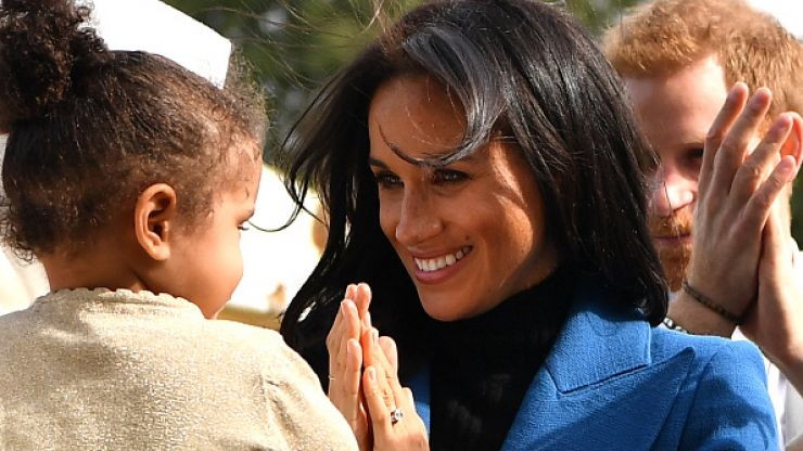 Here are the sweetest images from Meghan Markle's first solo project as a royal