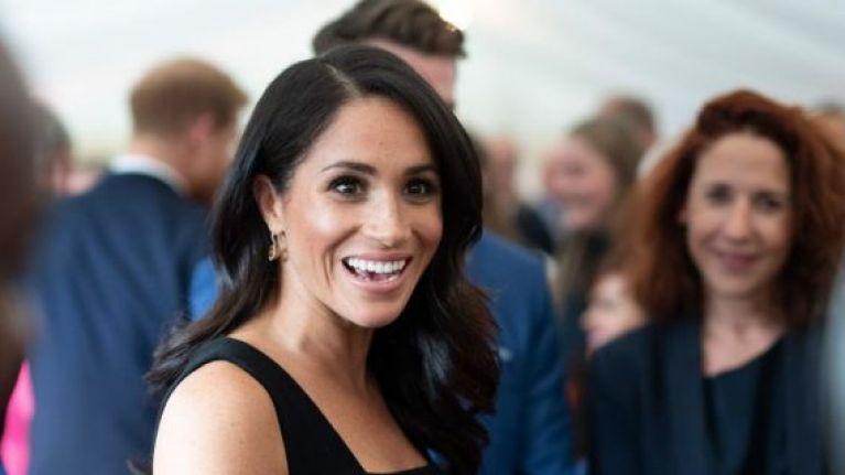 Meghan Markle broke royal protocol at last night's London Fashion Awards