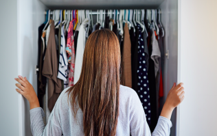 The brilliant wardrobe decluttering hack we'll be using from today