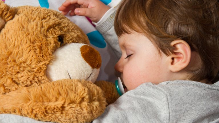 This aromatherapy lamp promises to get your child to sleep in minutes