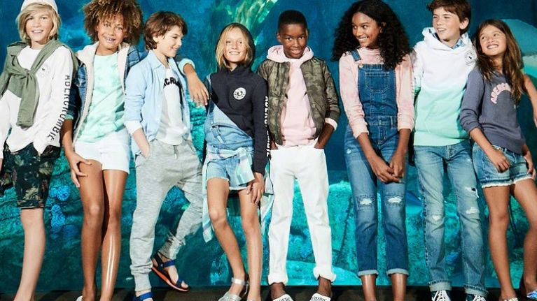 058b6c9e5d Abercrombie Kids debuts new gender-neutral clothing collection ...