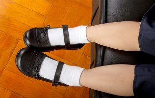 School requests that children only wear branded shoes