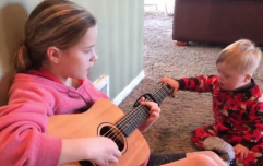 Clip of toddler singing shows the power of music therapy