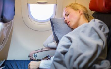 Here's the easy thing to do that will help you sleep on an airplane