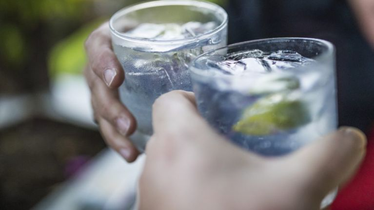 The smartest people are the heaviest drinkers, so pass the gin