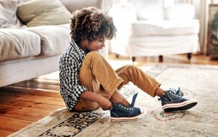 This genius trick will make sure your kids put their shoes on the right feet