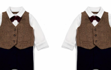 Mamas & Papas 'Peaky Blinders' inspired collection is here and it's TOO adorable