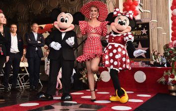 Minnie Mouse honoured with star on Walk of Fame FORTY years after Mickey