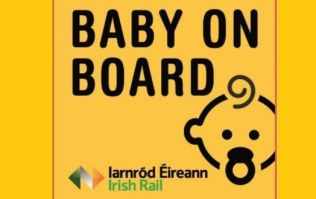 Irish Rail issue an update on their 'baby on board' badges