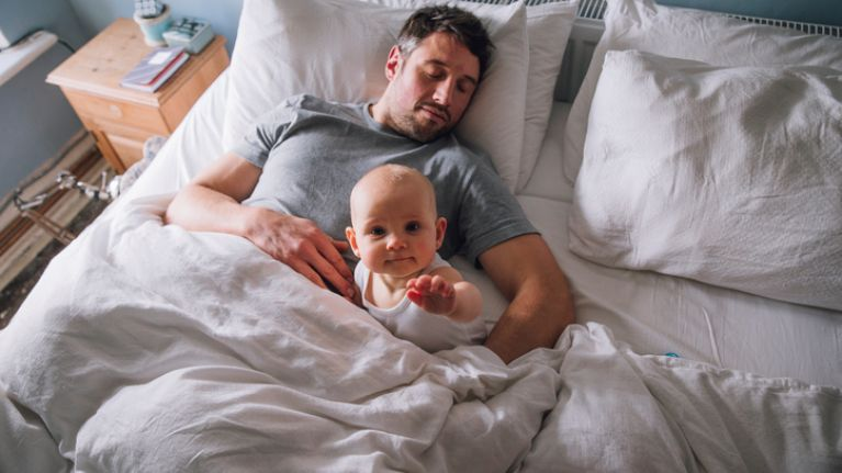 Parents lose the equivalent of 50 nights of sleep in their baby's first year, study finds