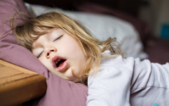 Worrying about your child's sleeping habits could be having an effect on your mental health