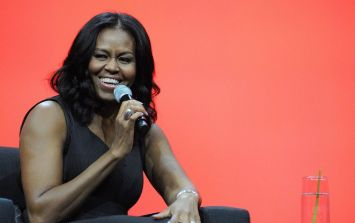 Nine-year-old dresses up as Michelle Obama and gets a lovely surprise after