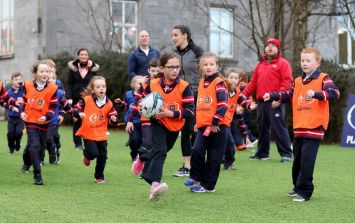 The free rugby initiative getting kids active and promoting teamwork in schools