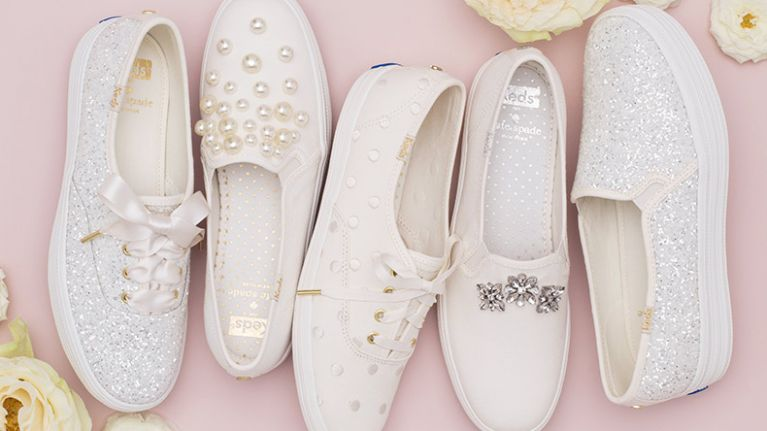 a2a314f47cb3 The Keds x Kate Spade wedding collection are the bridal shoes of dreams